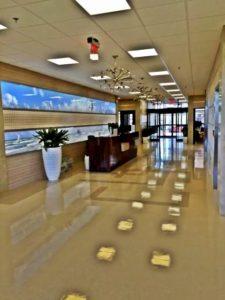 Lobby of Long Beach